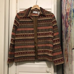 Vintage BEAUTIFUL Ugly 90s Bad Ass PARTY Jacket 8P